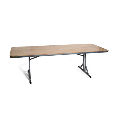 Banquet Trestle Table Extra Wide - Seats 10