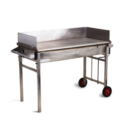 BBQ Stainless Windshield