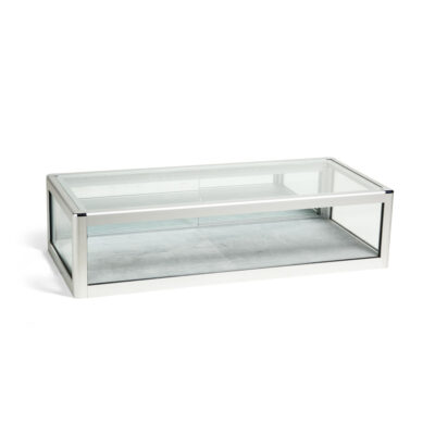 Glass Table Top Display Cabinet