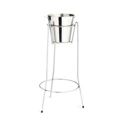 Ice Bucket Stand - Chrome