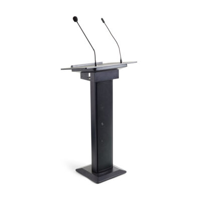 Lectern & PA Combined - Black