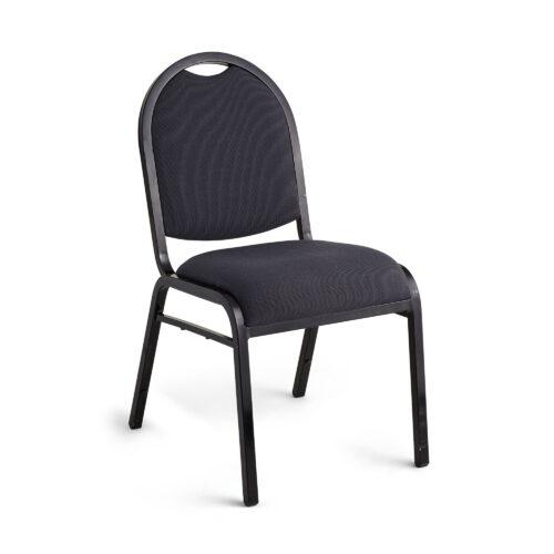 Sebel Conrad Black Conference Padded Chair